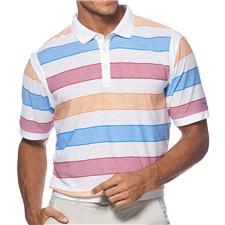 Callaway Golf Men's Fiber Stripe Polo