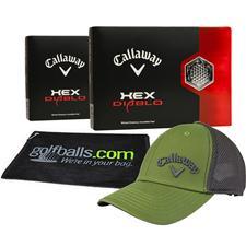 Callaway Golf HEX Diablo Personalized Fan Pack
