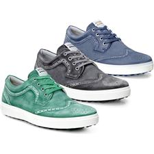 $139.95, Ecco Golf Men's Casual Hybrid II Wingtip Golf Shoes