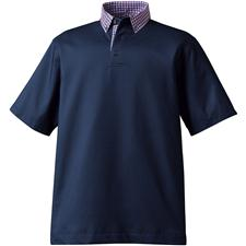 Shop navy golf shirts at for Button down collar golf shirt