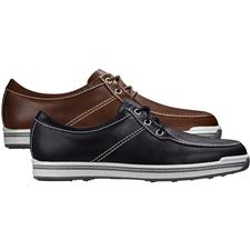 FootJoy Wide Contour Casual Leather Golf Shoes