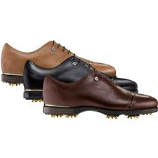 FootJoy Men's Icon Black Solid Golf Shoes