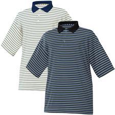 FootJoy Men's Stretch Pique Stripe Polo- Previous Season Apparel