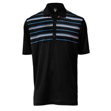 Greg Norman Men's Atlantic Stripe Polo