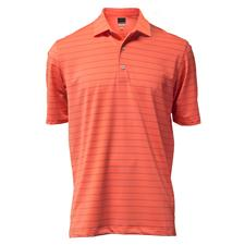 Greg Norman Men's Harbor Stripe Polo