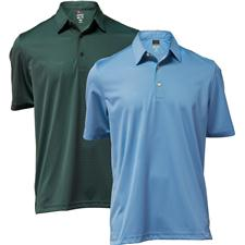 Greg Norman Men's ML75 Stripe Polo