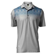 Greg Norman Men's Shoreline Print Polo
