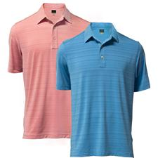 Greg Norman Men's Textured Performance Polo