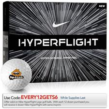 Nike Custom Logo Hyperflight Golf Balls