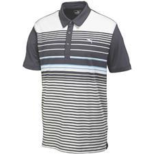 Puma Men's Yarn Dye Stripe Polo