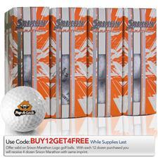 Srixon Marathon Logo Golf Balls