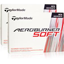 Taylor Made Aeroburner Soft Double Dozen Golf Balls
