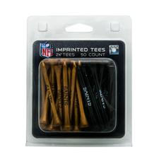 Team Golf New Orleans Saints NFL Tee Pack - 50 Count