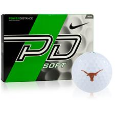 Nike Texas Longhorns Collegiate Power Distance Soft Golf Balls