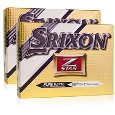 Srixon Z Star 4 Double Dozen Golf Balls