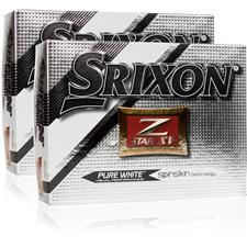 Srixon Z Star XV 4 Double Dozen Golf Balls