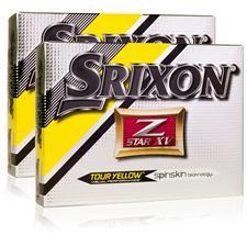 Srixon Z Star XV 4 Tour Yellow Double Dozen Golf Balls