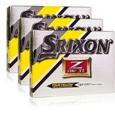 Srixon Z Star XV 4 Tour Yellow Triple Dozen Golf Balls