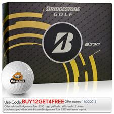 Bridgestone Tour B330 Logo Golf Balls