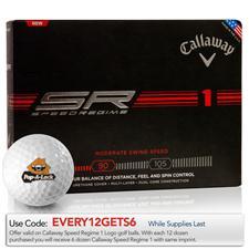 Callaway Golf Speed Regime 1 Logo Golf Balls