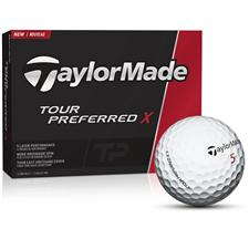 Taylor Made Custom Logo Tour Preferred X Golf Balls - 2016 Model