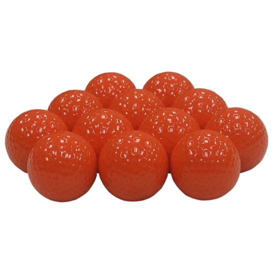 Blank Colored Golf Balls - Neon Orange
