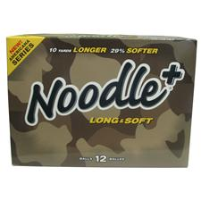Noodle + Long and Soft Logo Golf Balls - Camo Packaging