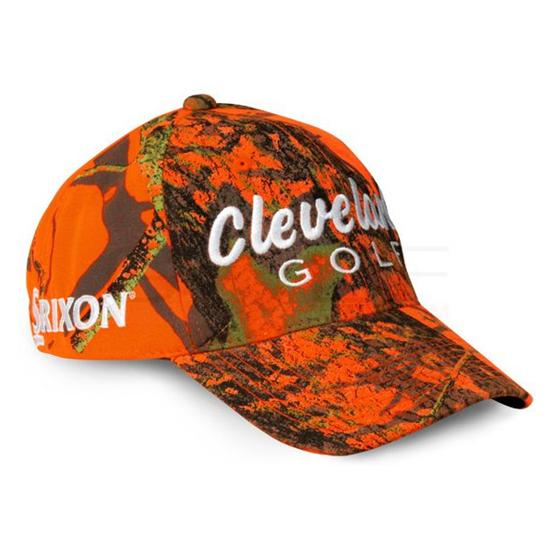Cleveland Golf Men's Boo Limited Edition Orange Camo Golf Hat