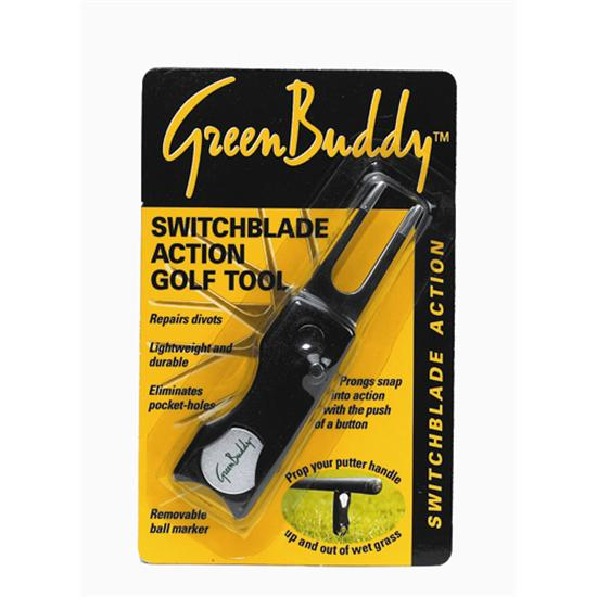 Green Buddy Switch Blade Action Divot Tool