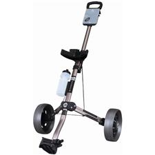 OnCourse Titanium Pull Cart w/ Drink Bottle