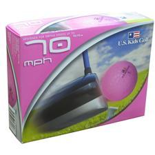 U.S. Kids 70 SS Pink Golf Balls