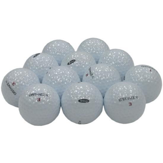 Wilson Distance TC Logo Overrun Golf Balls