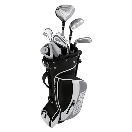 Wilson Profile Junior Club Set - Silver (Ages 8-11)