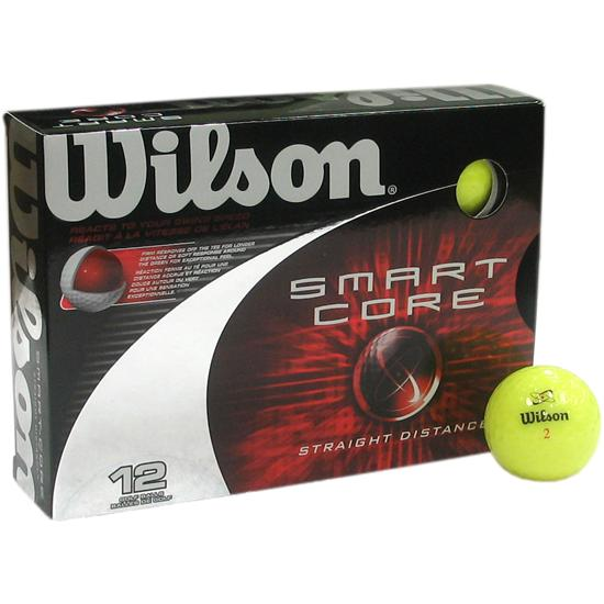 Wilson Smartcore Straight Distance Colored Golf Balls