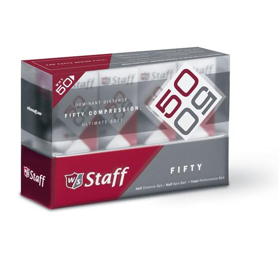 Wilson Staff Fifty Golf Balls