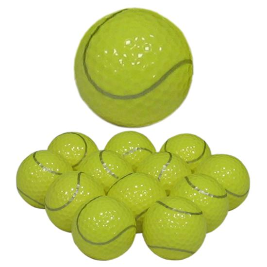 Novelty Tennis Golf Balls