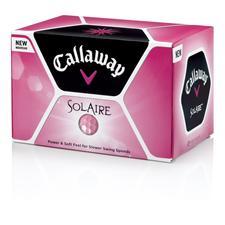 Solaire Custom Logo Pink Golf Balls