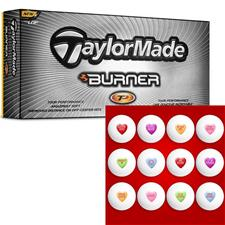 Candy Heart Golf Balls - Taylor Made Burner TP