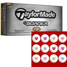 Candy Heart Golf Balls - Taylor Made Burner TP
