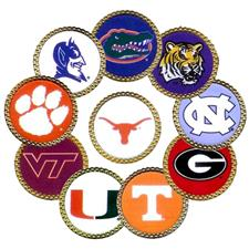 Gator Made Collegiate Ball Markers