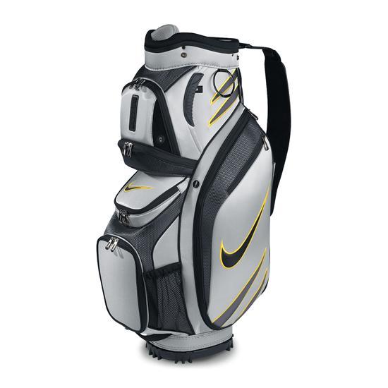 New Nike 2011 M9 Golf Cart Bag (Silver/Black/Topaz)