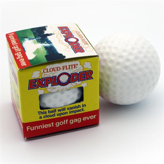 Hole In One The Exploder - Exploding Golf Balls