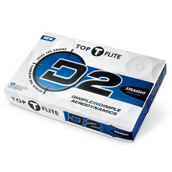 Top-Flite D2 Straight Golf Ball