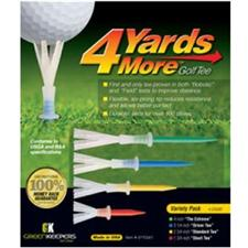 4 Yards More Assorted Golf Tees