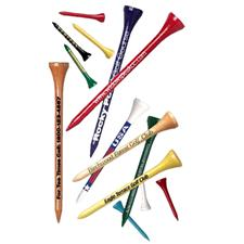 Logo Golf 3 1/4  Golf Tees