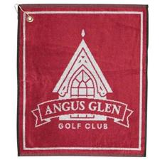 Logo Golf Custom Logo Woven Jacquard Golf Towel
