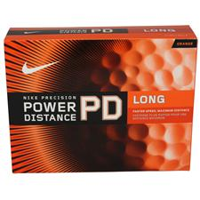 Nike Power Distance Long Orange Golf Balls