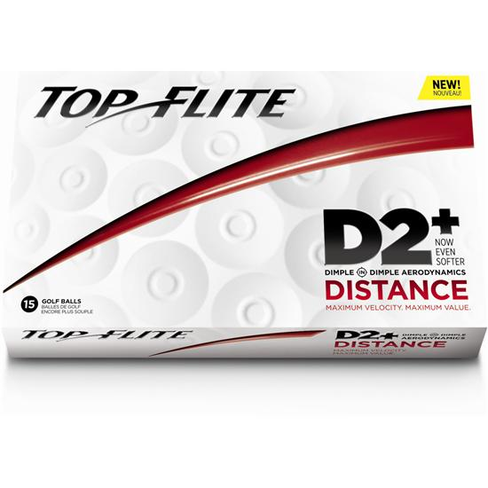 Top-Flite D2+ Distance Golf Ball