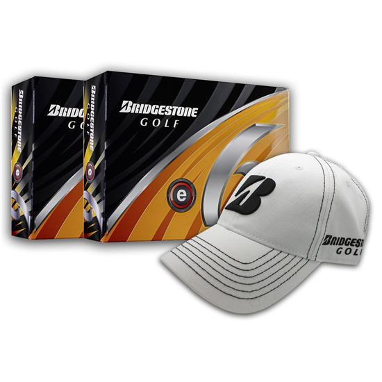 Bridgestone e6 Golf Balls - Buy 2 Dozen Get Free Hat
