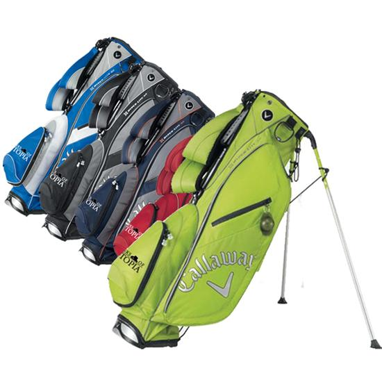 Callaway Golf Hyper-Lite 3.0 Links of Utopia Logo Stand Bag